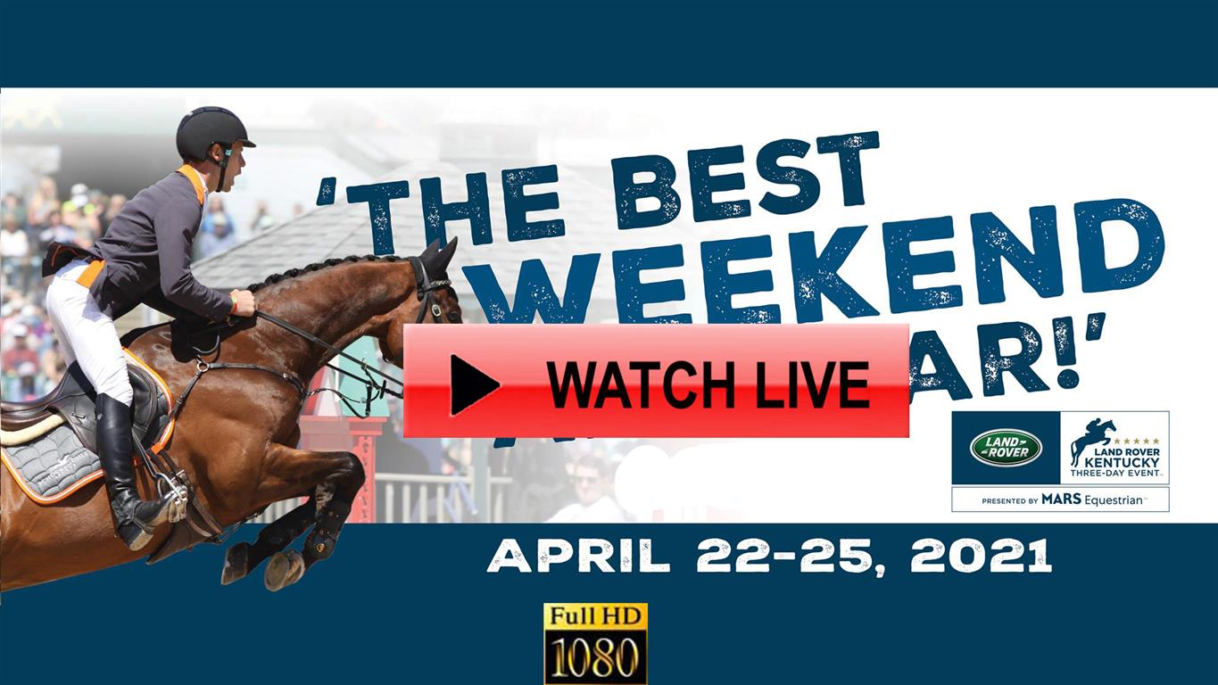 Land Rover Kentucky Three-Day Event 2021 Live