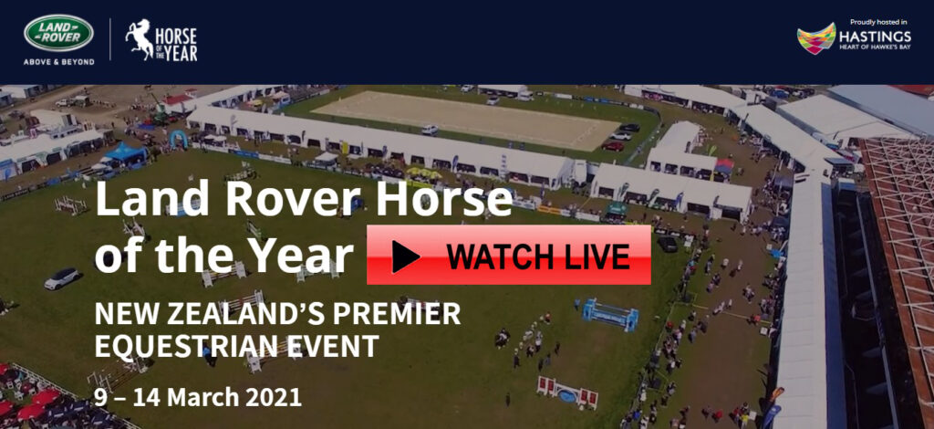 land rover horse of the year 2021